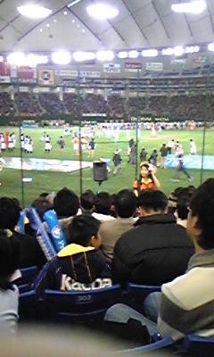 再び東京ドーム