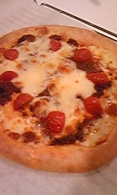 ピザです!